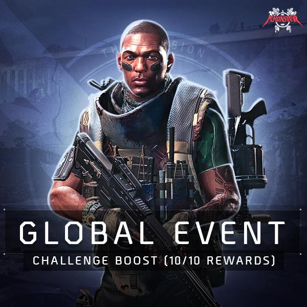 Global Event Challenge Boost (10/10 Rewards)