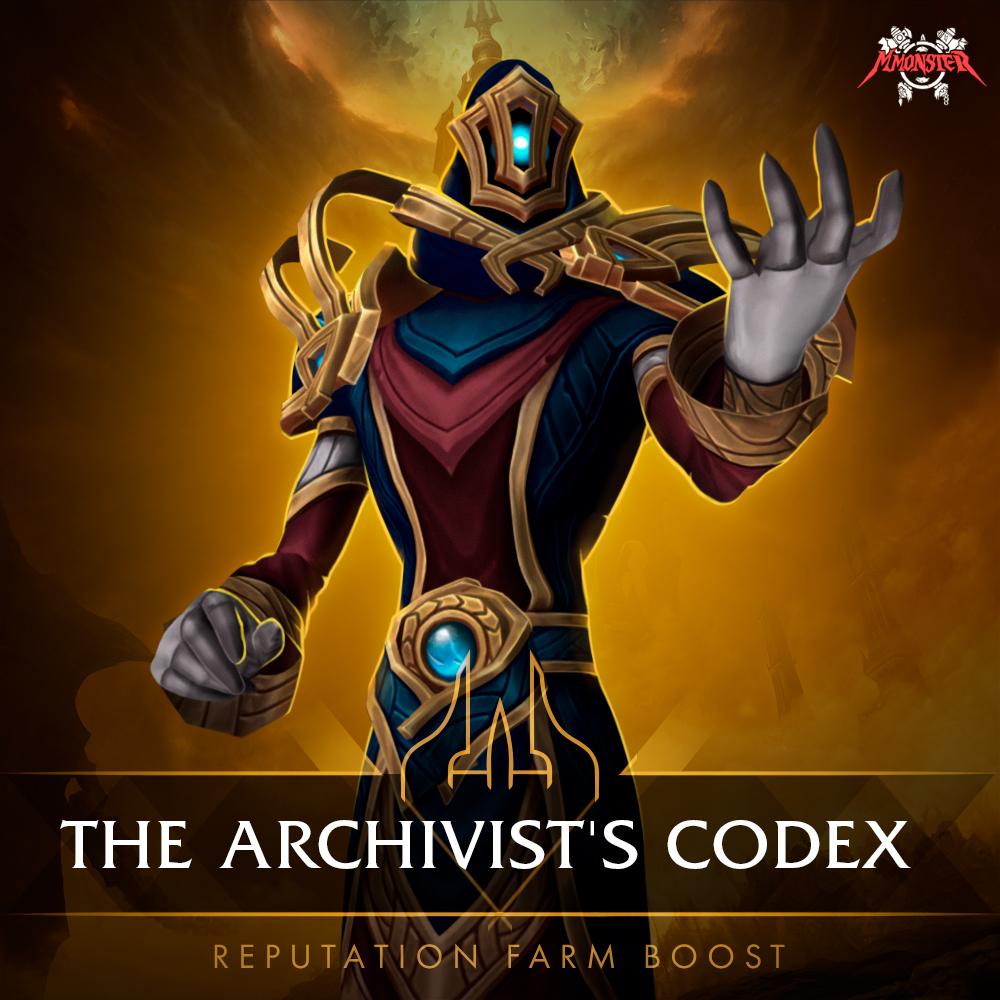 The Archivists' Codex Reputation Farm Boost [id:39222]