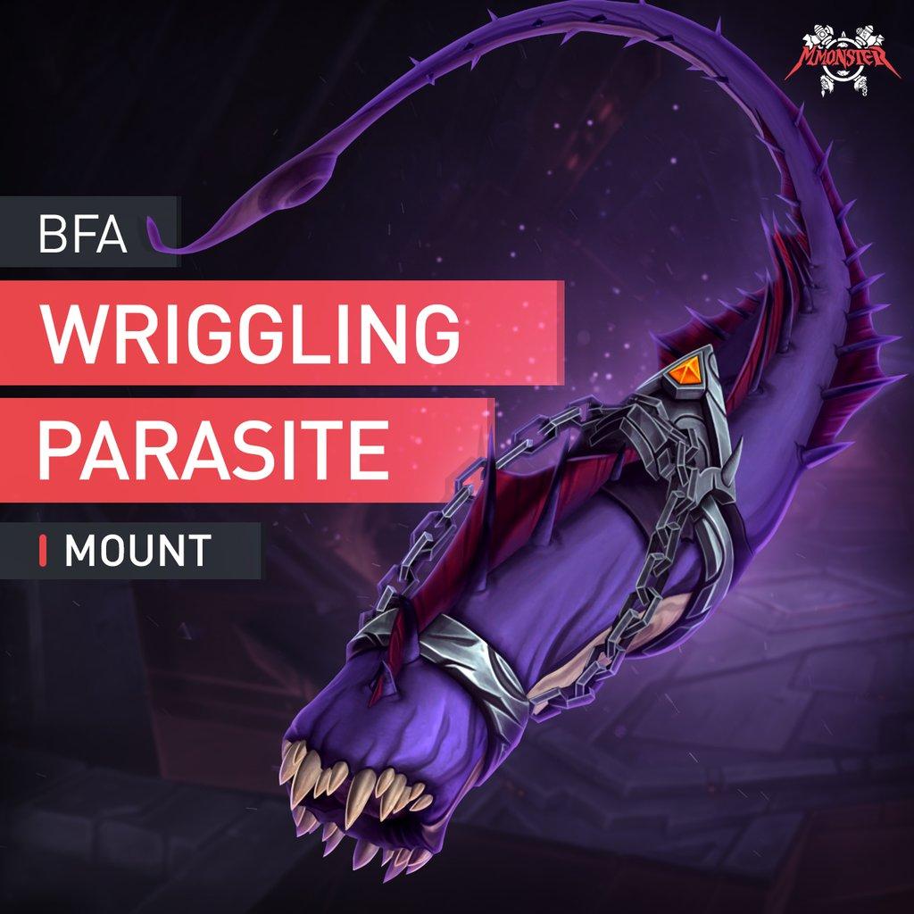 Wriggling Parasite Mount