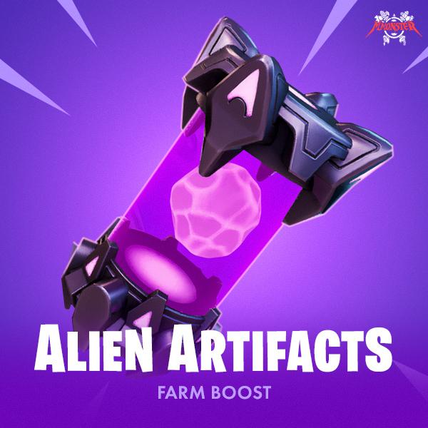 Fortnite Alien Artifacts Farm Boost