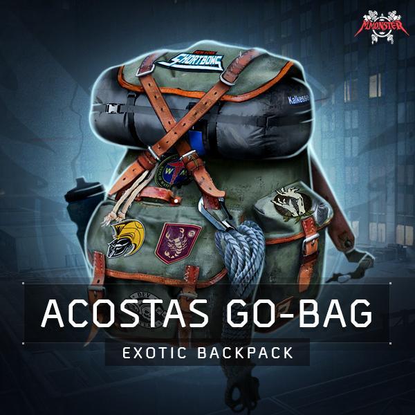 Acosta's Go-Bag Exotic Backpack Farm Boost