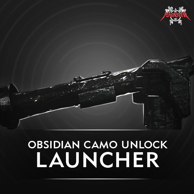 CoD MW Launcher Obsidian Camo Unlock Boost