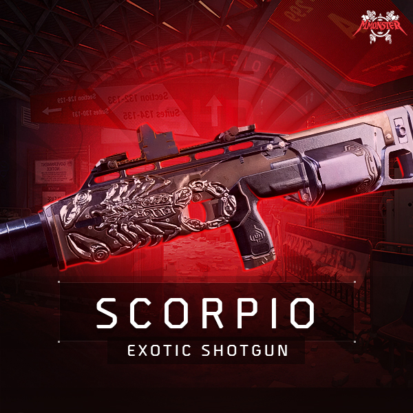 Scorpio Exotic Shotgun Farm Boost [id:22527]