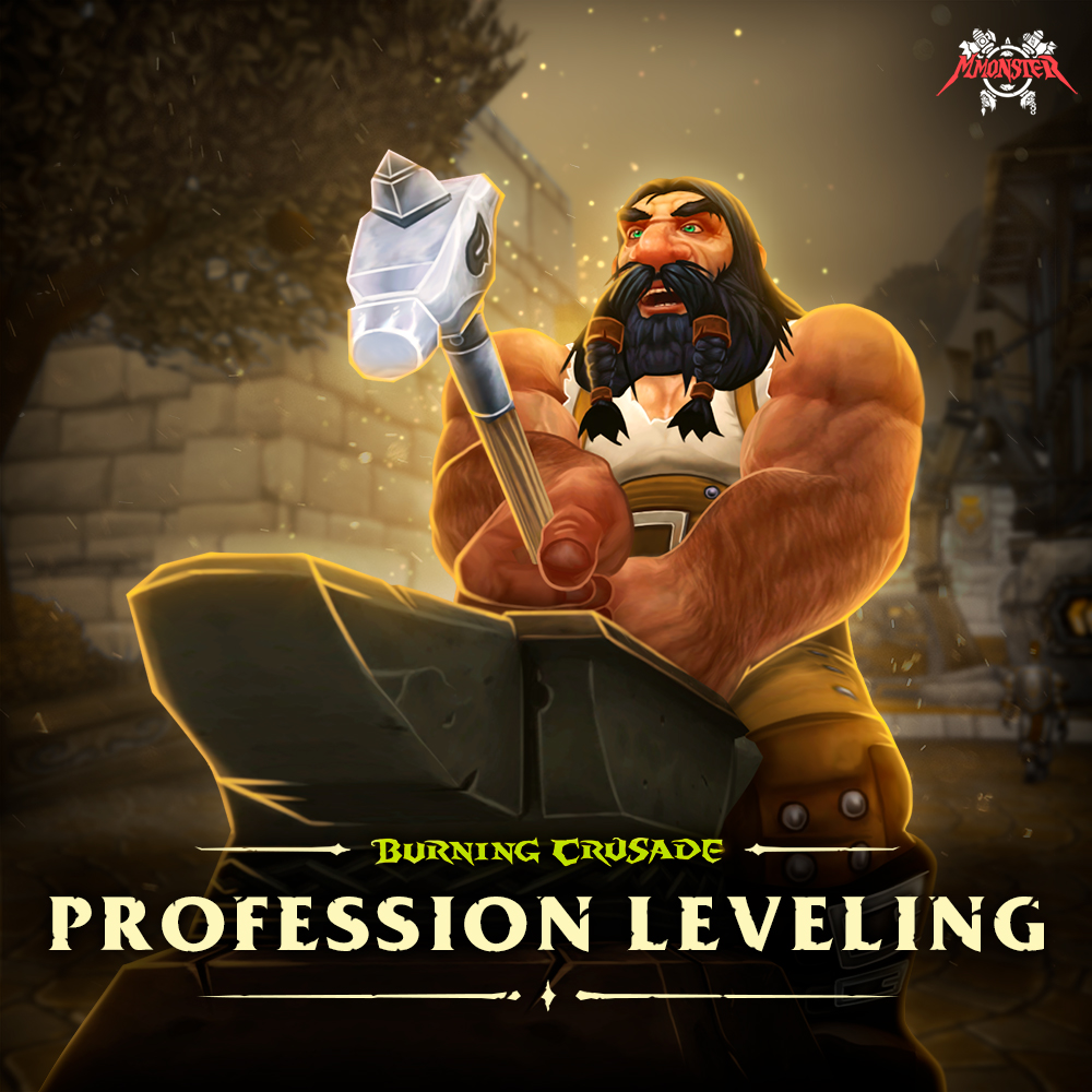 WoW Burning Crusade Classic Professions Leveling Boost