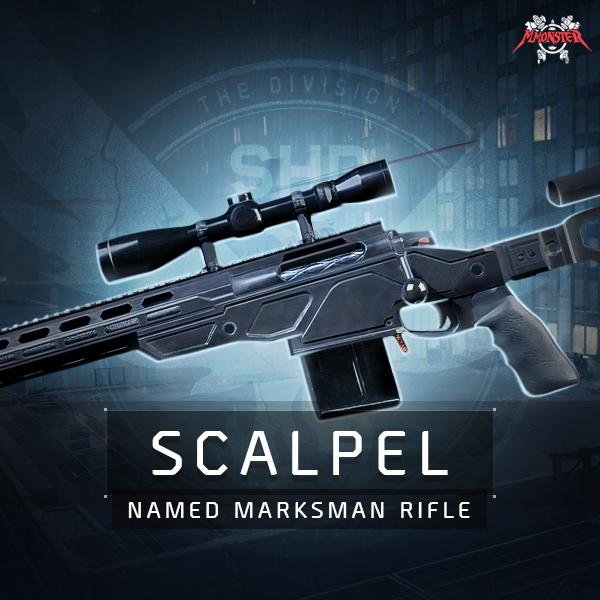Scalpel Named Marksman Rifle Farm Boost