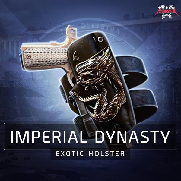 Imperial Dynasty Exotic Holster Farm Boost