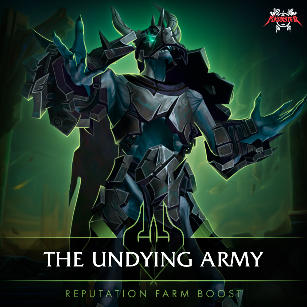 the undying army reputation farm boost