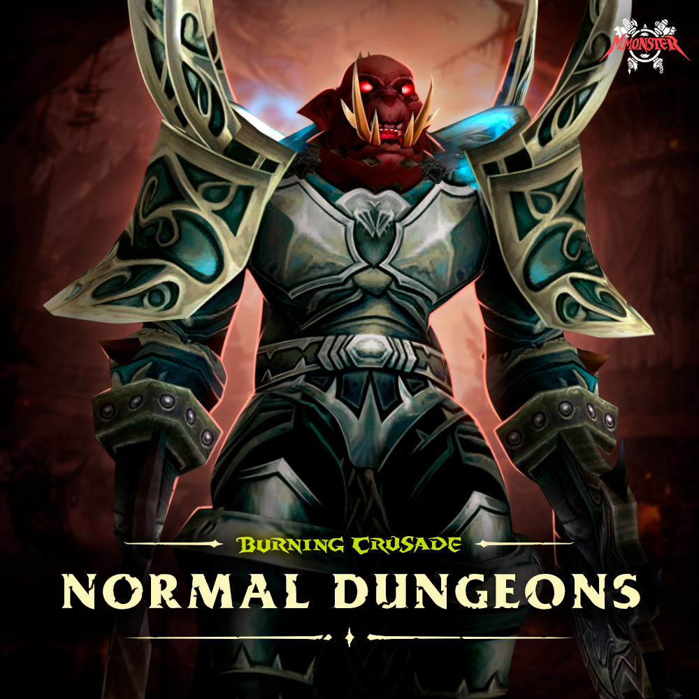 WoW Burning Crusade Classic Normal Dungeon Boost Run
