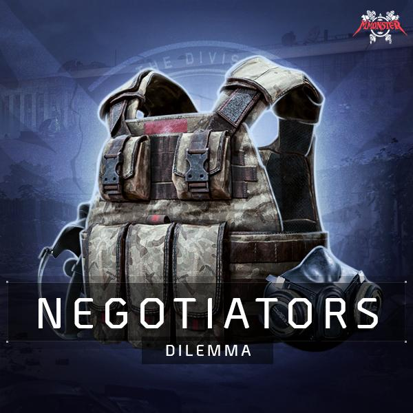 Negotiators Dilemma Gear Set Farm Boost
