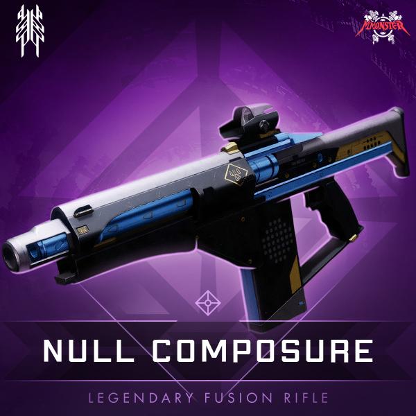 Null composure Legendary Ritual Fusion Rifle
