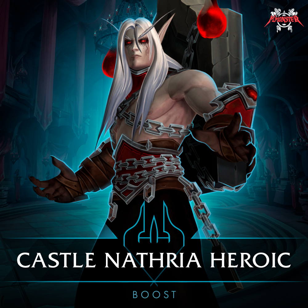 Castle Nathria Heroic Boost Run