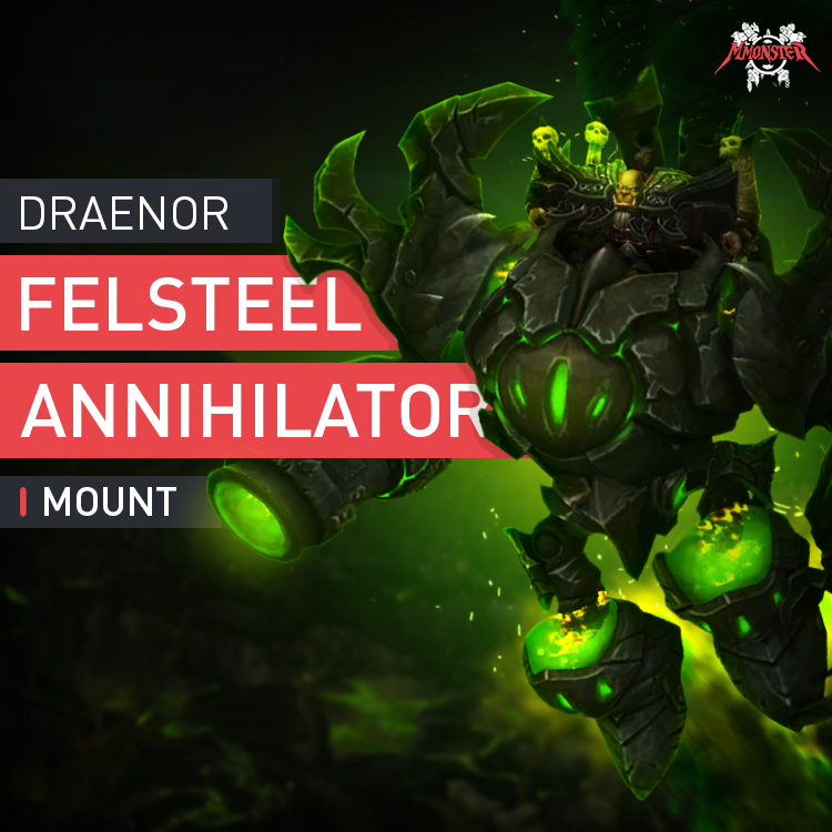 Felsteel Annihilator Mount