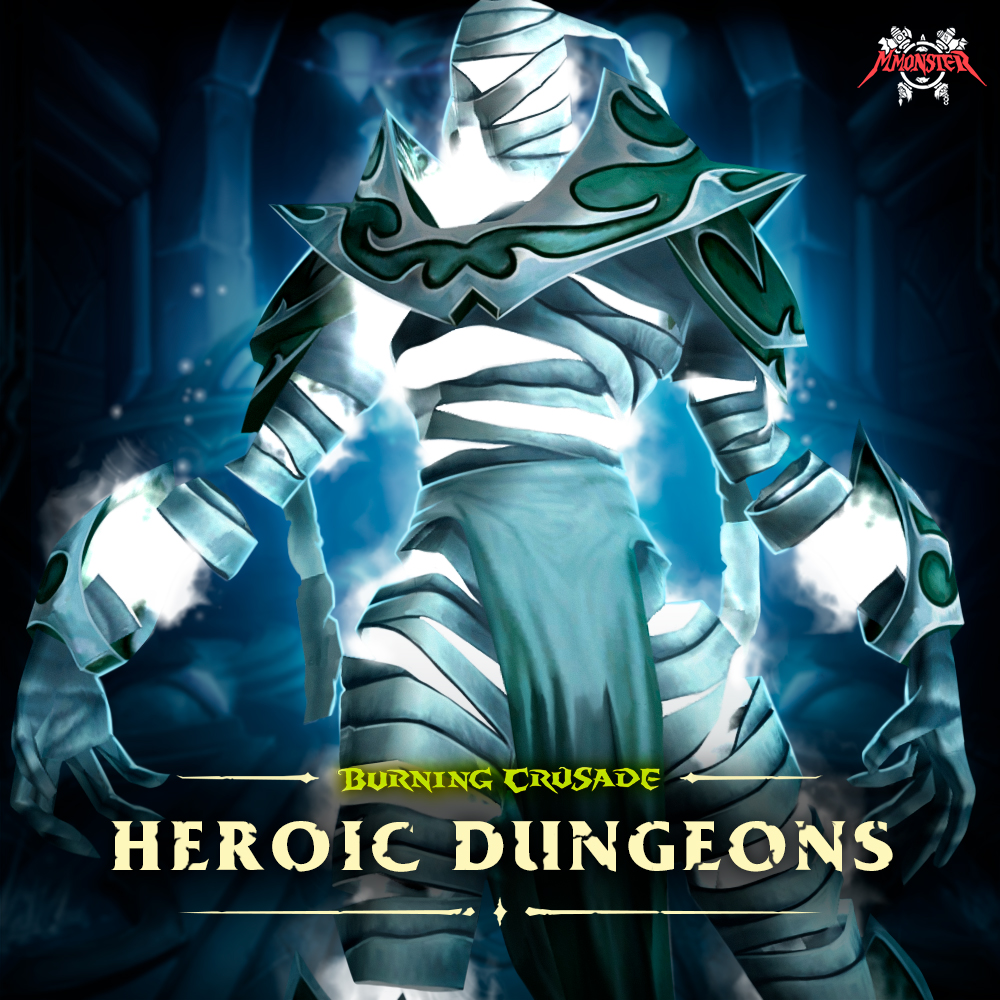 WoW Burning Crusade Classic Heroic Dungeon Boost Run