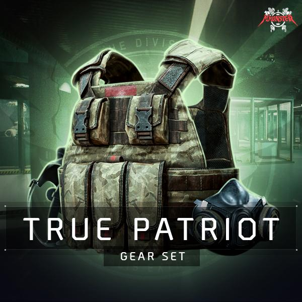 True Patriot Gear Set Farm Boost