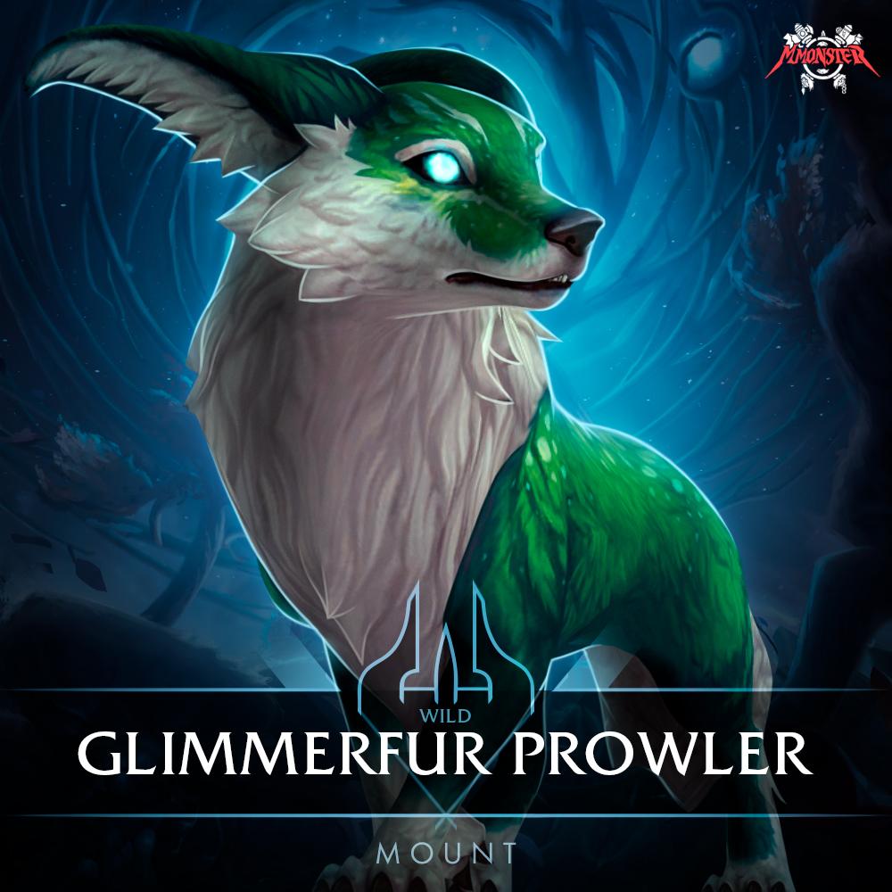 Wild Glimmerfur Prowler Mount Farm Boost