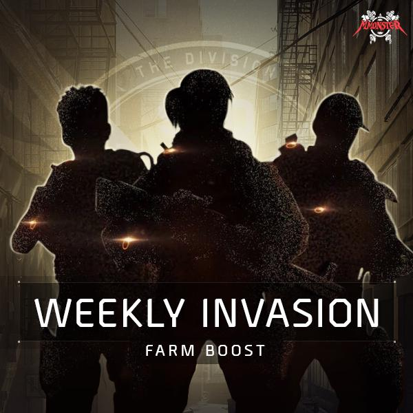 Weekly Invasion Boost