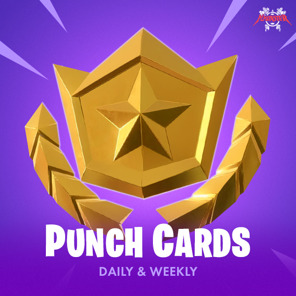 Fortnite Daily and Weekly Punchcards