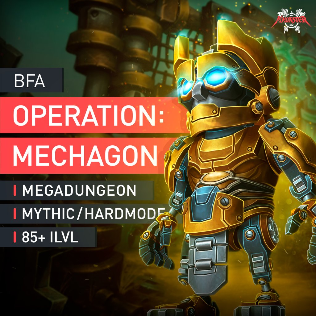 Operation: Mechagon Megadungeon Boost Run - MmonsteR