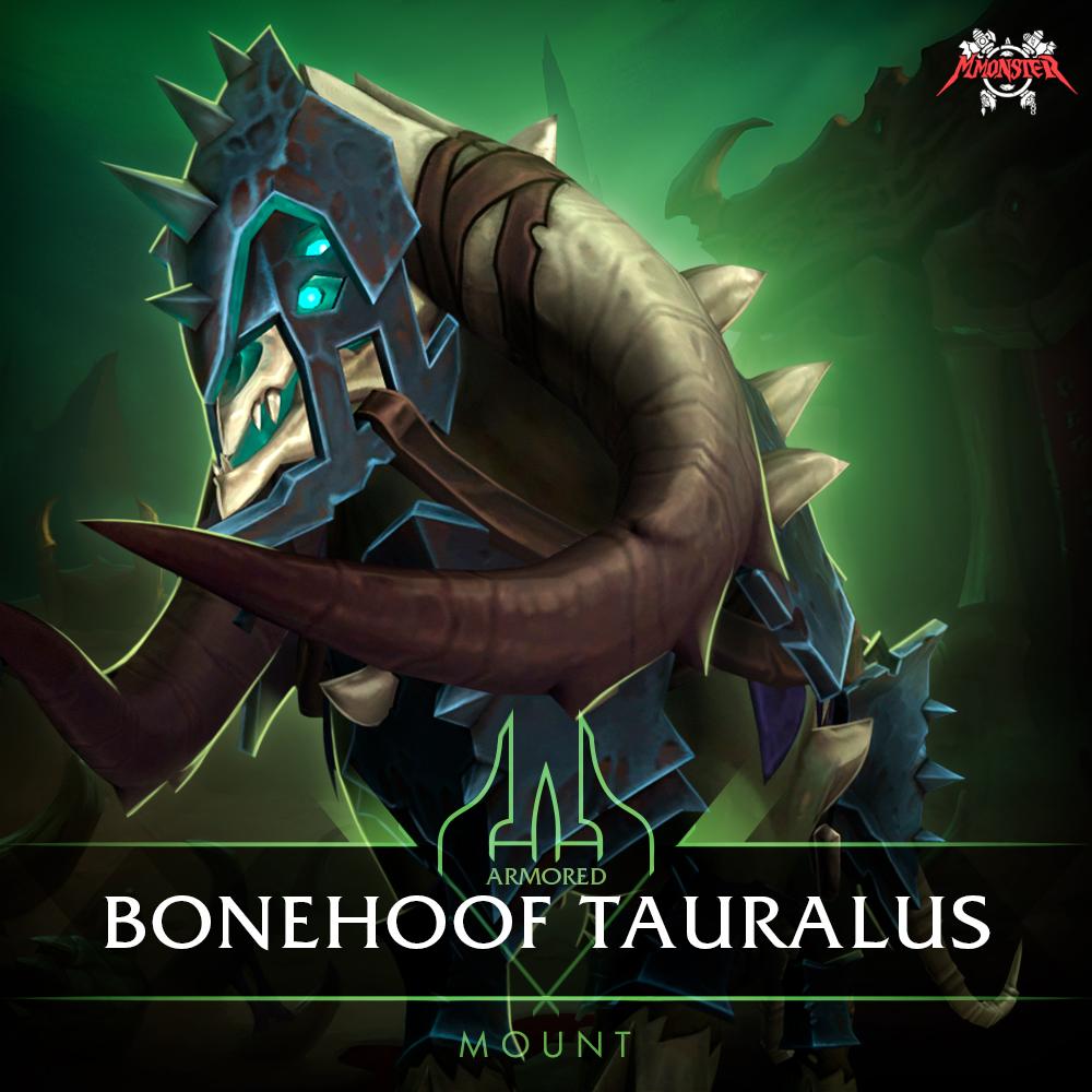 Armored Bonehoof Tauralus Mount Farm Boost