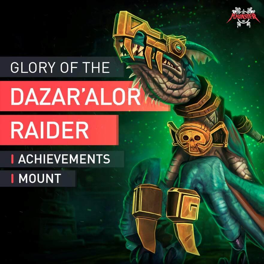 Glory of the Dazar'alor Raider boost - MmonsteR