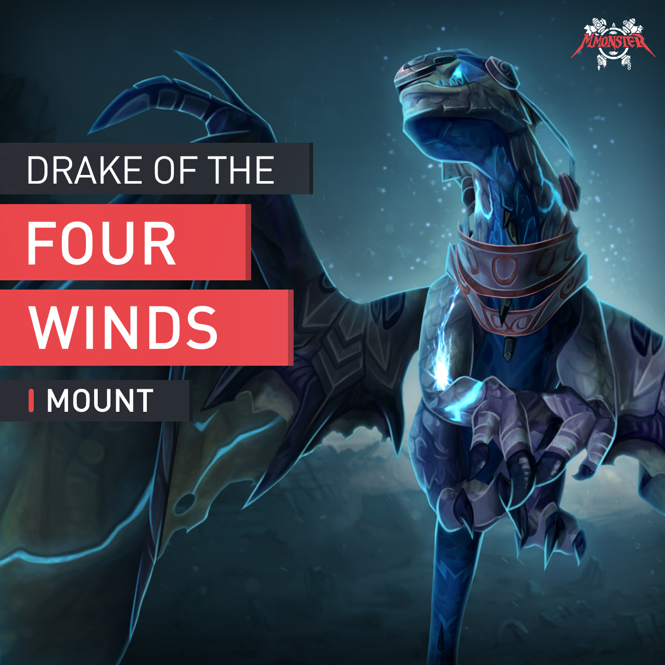 Drake of the Four Winds Mount