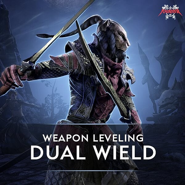 ESO Dual Wield Weapon Leveling