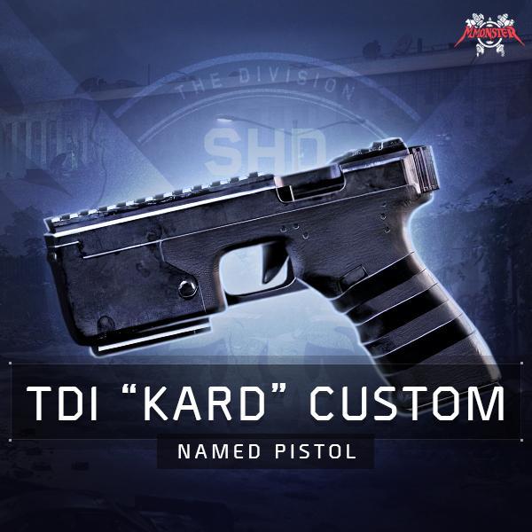 TDI Kard Custom Named Pistol Farm Boost