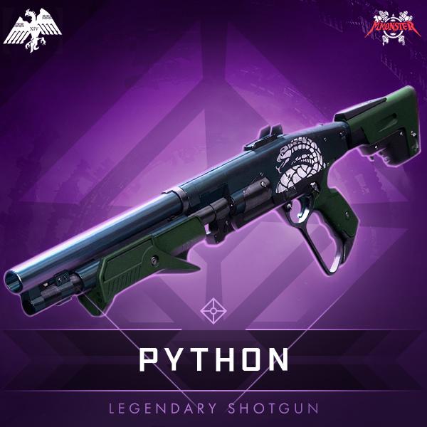 PYTHON Legendary Shotgun