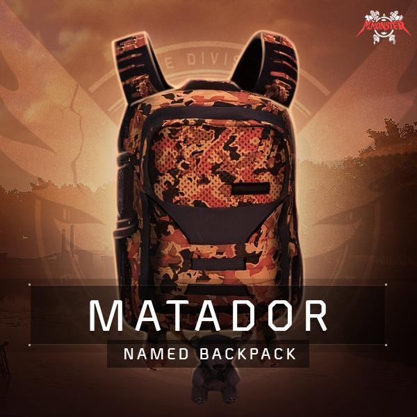 Matador High-End Named Backpack Farm Boost