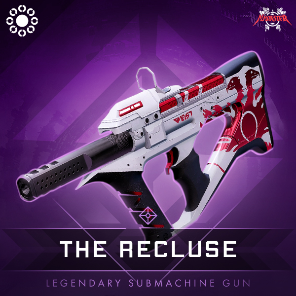 THE RECLUSE Legendary Submachine Gun