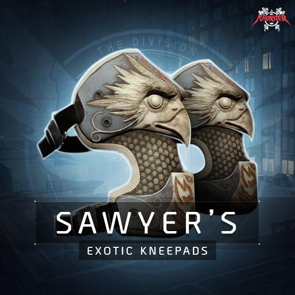 Sawyer's Exotic Kneepads Farm Boost