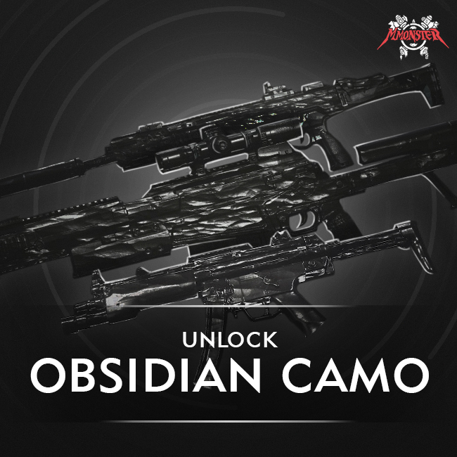 CoD MW Obsidian Camo Unlock Boost