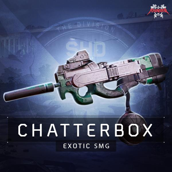 The Chatterbox Exotic SMG Weapon Farm Boost