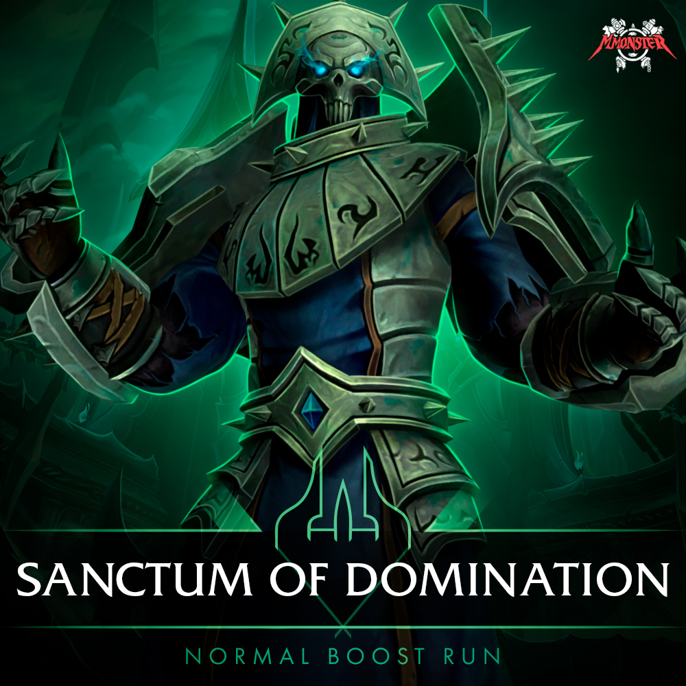 Sanctum of Domination Normal Boost Run