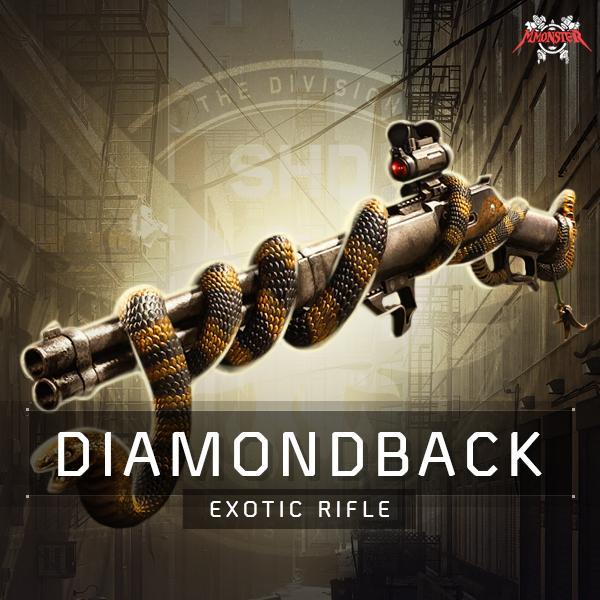 Diamondback Exotic Weapon Farm Boost