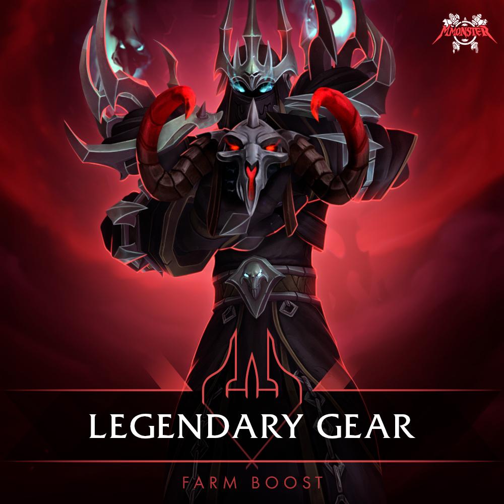 Shadowlands Legendary Gear Craft Boost [id:81387]