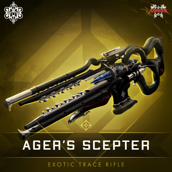 Ager's Scepter Exotic / Stasis / Trace Rifle