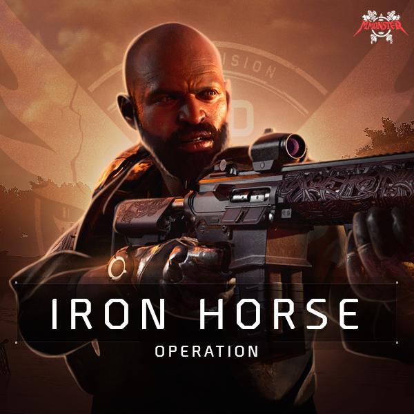 Operation Iron Horse Raid Boost [id:47309]
