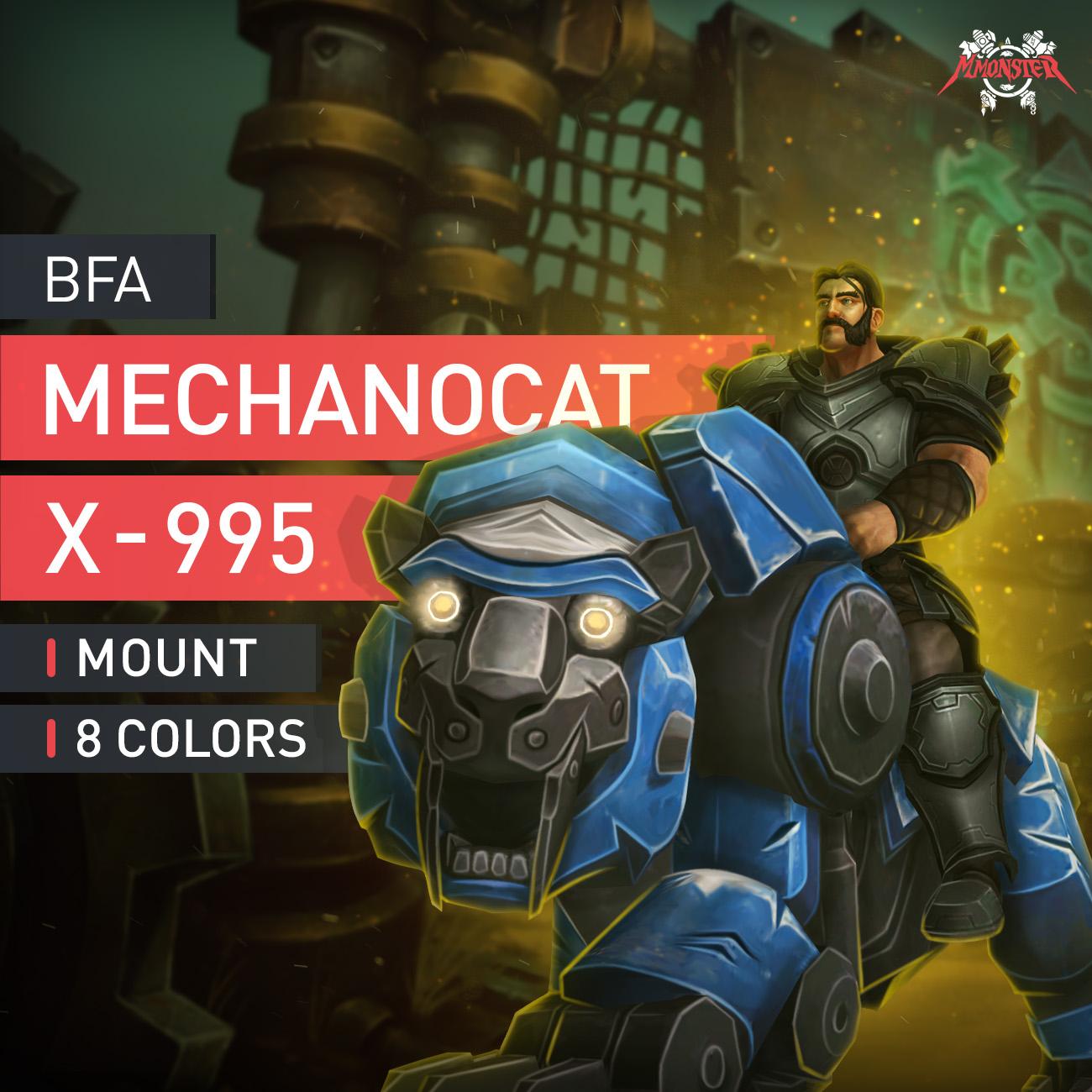 X-995 Mechanocat Mount