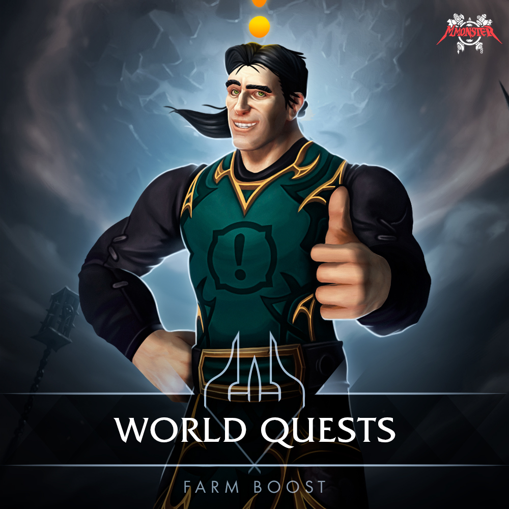 World Quests Farm Boost