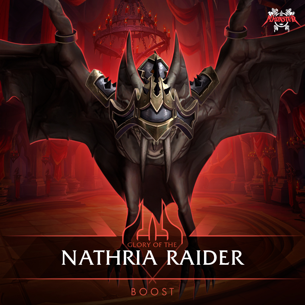 glory of the nathria raider boost