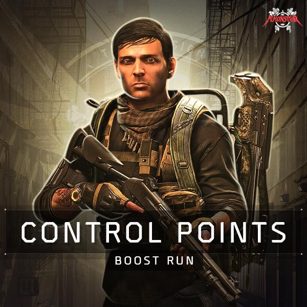 Control Points Boost Run