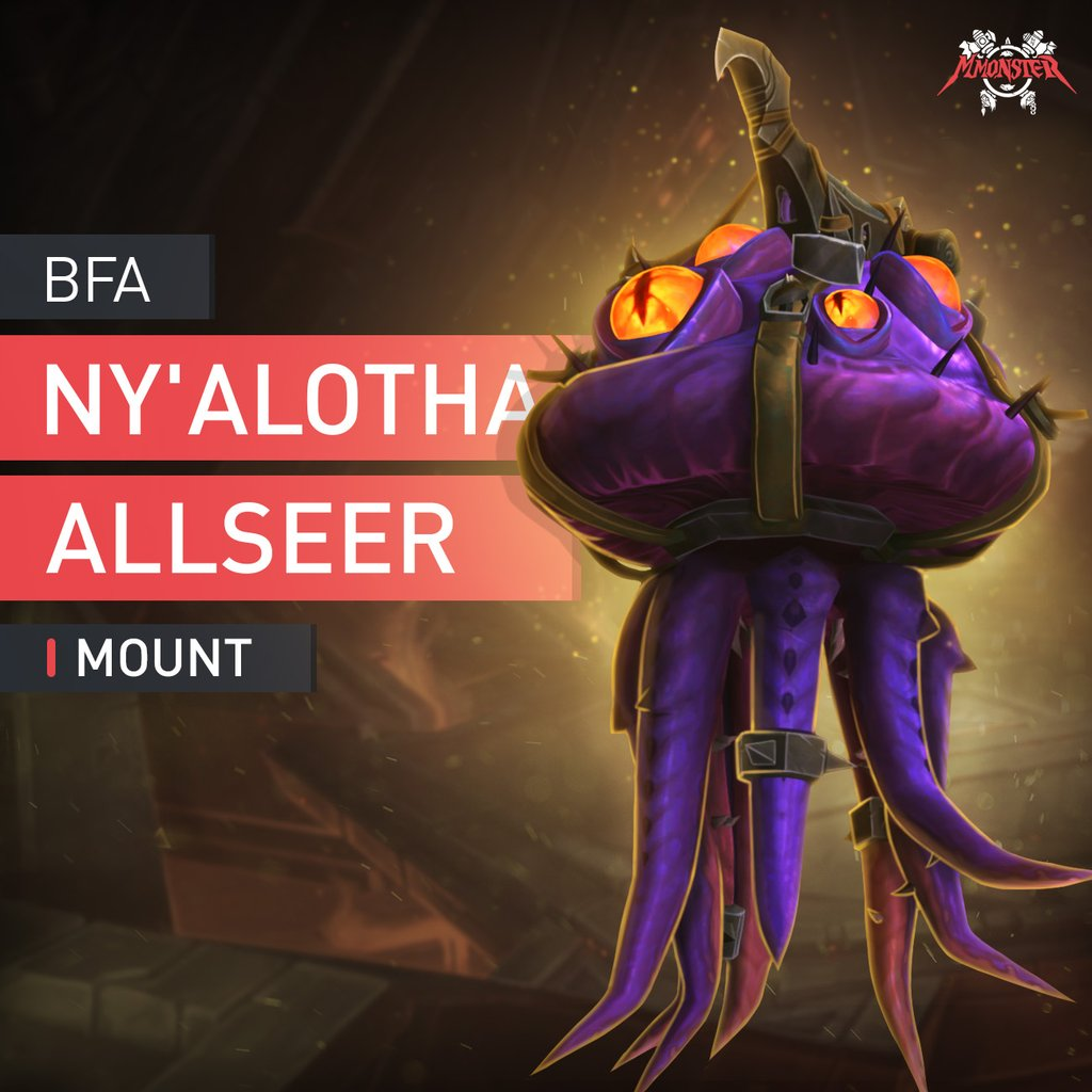 Ny'alotha Allseer Mount Boost Carry - MmonsteR