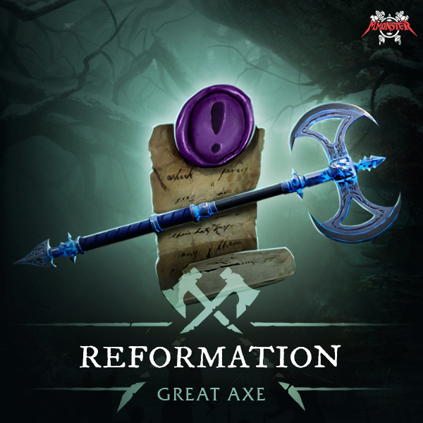 New World  The Reformator Great Axe 580 GS The Reformation Quest Boost