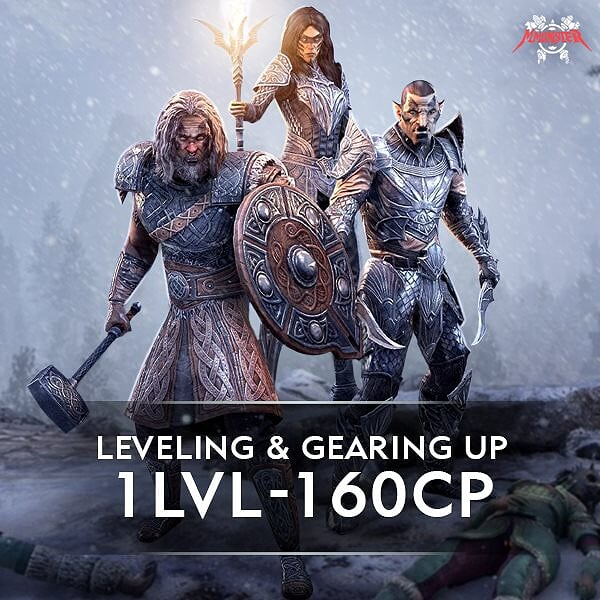ESO Hero Boost and Gear up 1 lvl - 160 cp