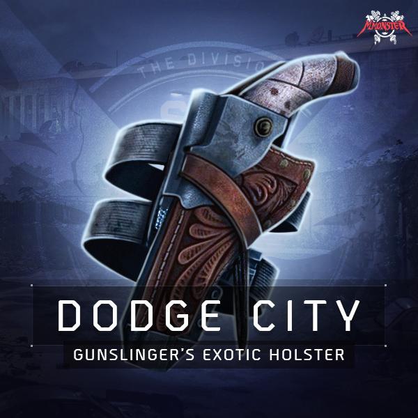 Dodge City Gunslinger's Exotic Holster Farm Boost