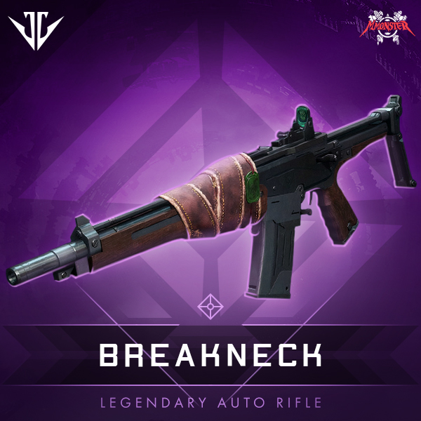BREAKNECK Legendary Auto Rifle