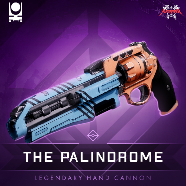 The Palindrome Legendary Energy Hand Cannon