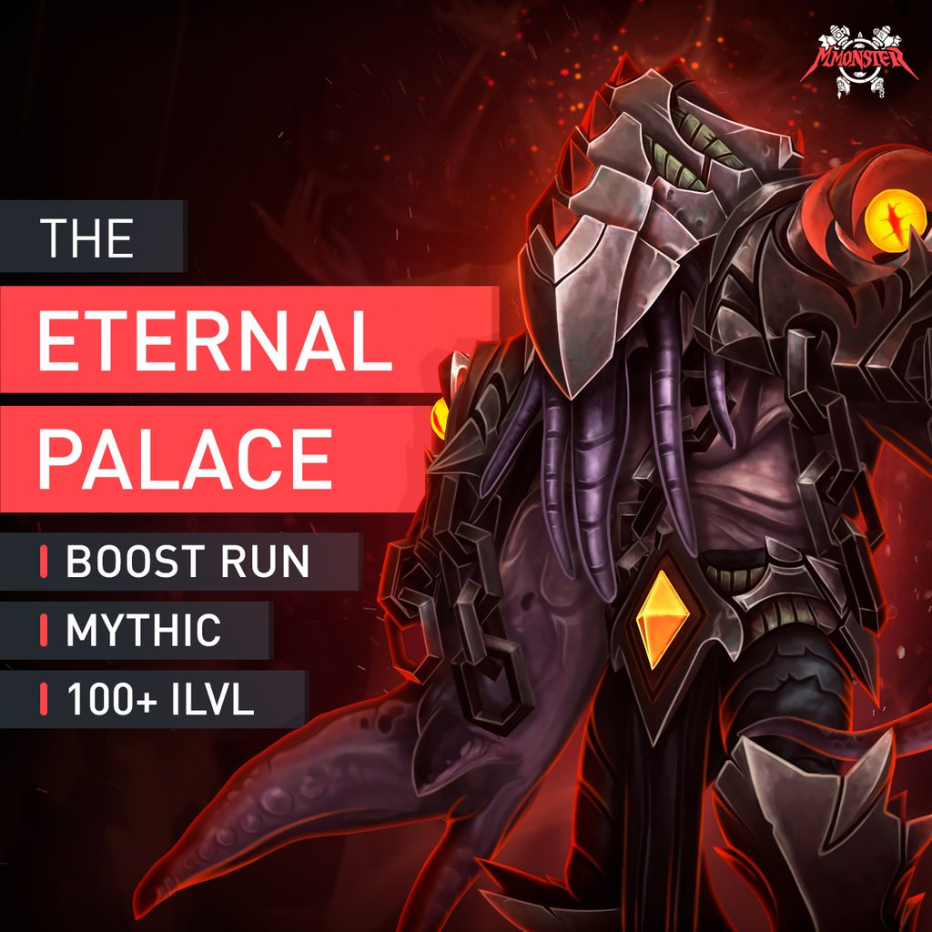 The Eternal Palace Mythic Boost