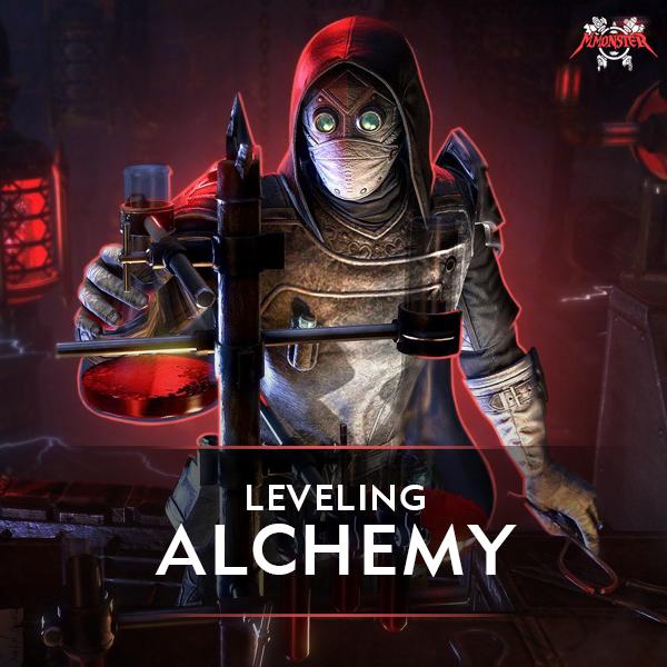ESO Alchemy Leveling